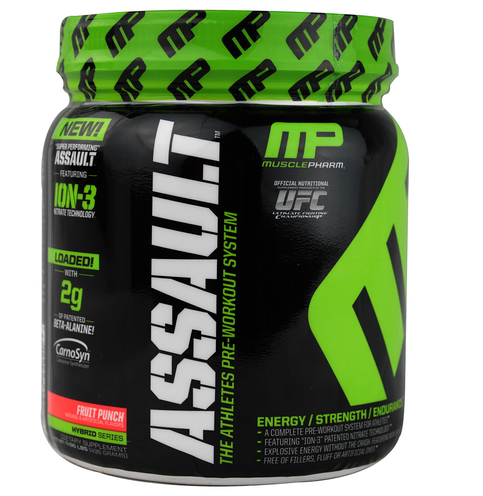 Muscle pharm assault results