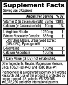 cellucorNO3-supplement-facts-panel